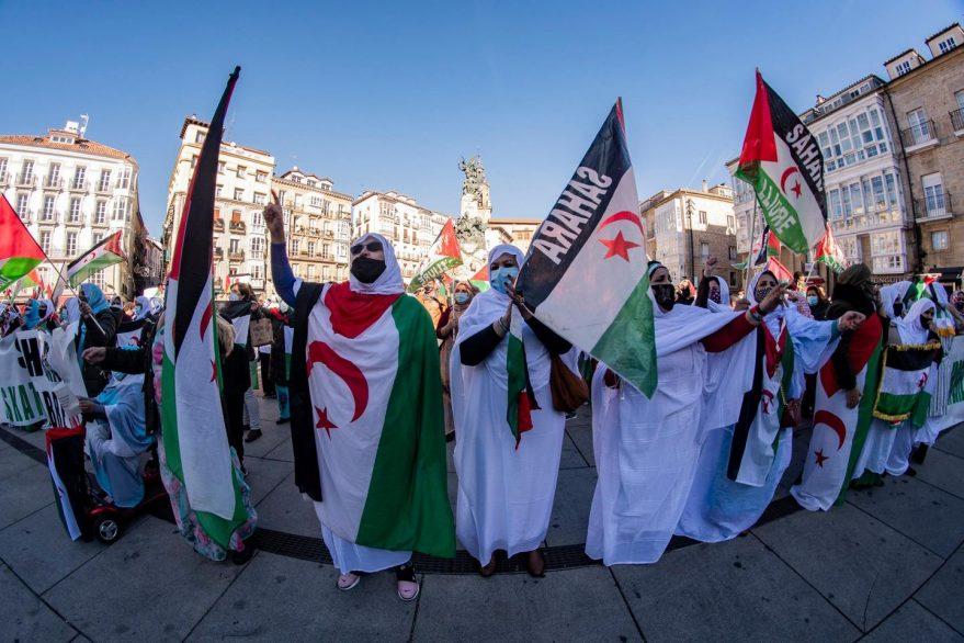 sahara occidental protesta guerra