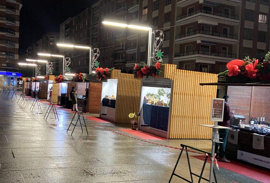 Mercado de Navidad plaza de abastos Vitoria