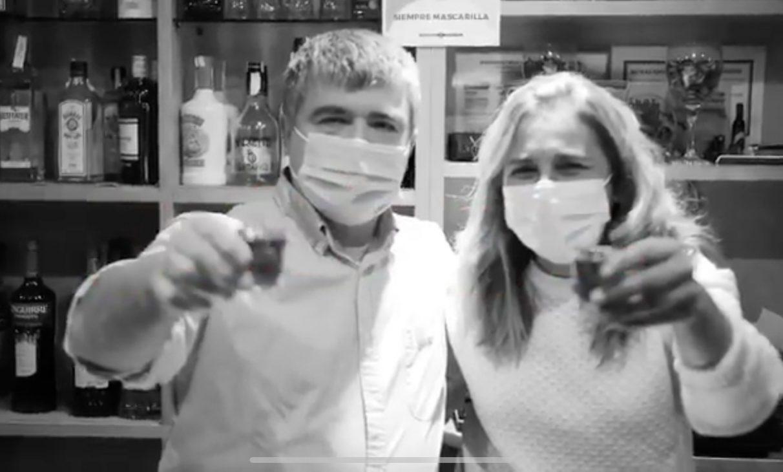 Homenaje a los hosteleros de Kutxi: 'Ez Negar Egin' | Gasteiz Hoy