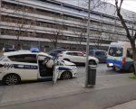 Accidente policía local ambulancia coche