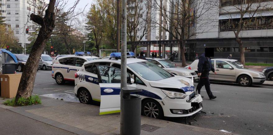 accidente policia ambulancia vitoria