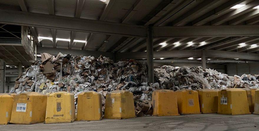 residuos abandonados escor