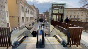 escaleras mecanicas de la cuesta