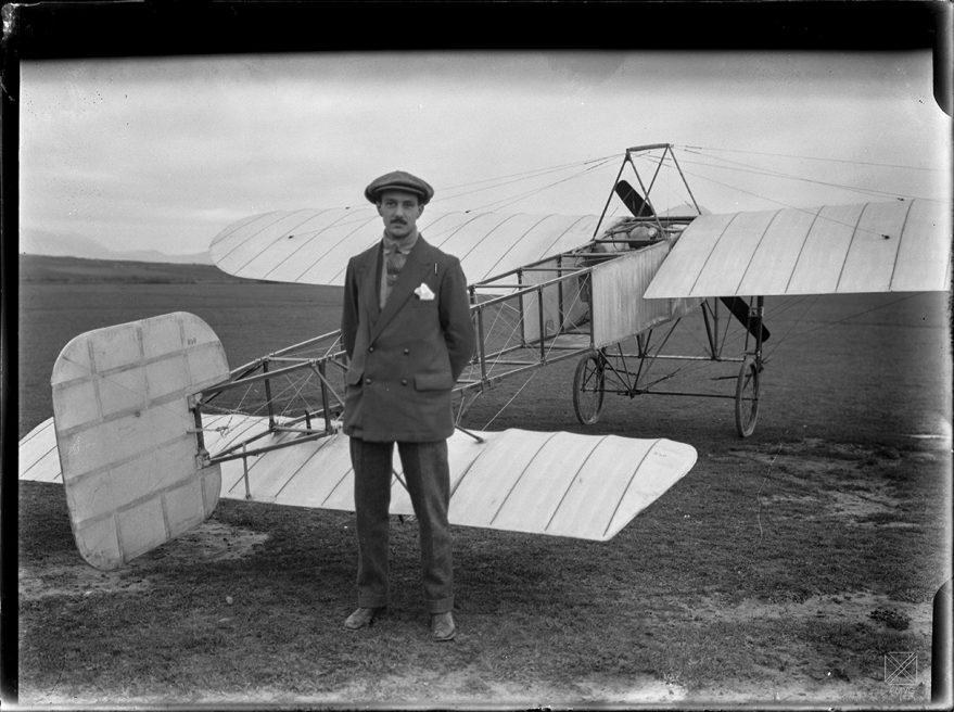 heraclio alfaro avion