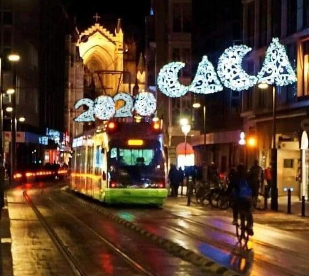 El meme 'fake' de las luces de Navidad de Vitoria | Gasteiz Hoy