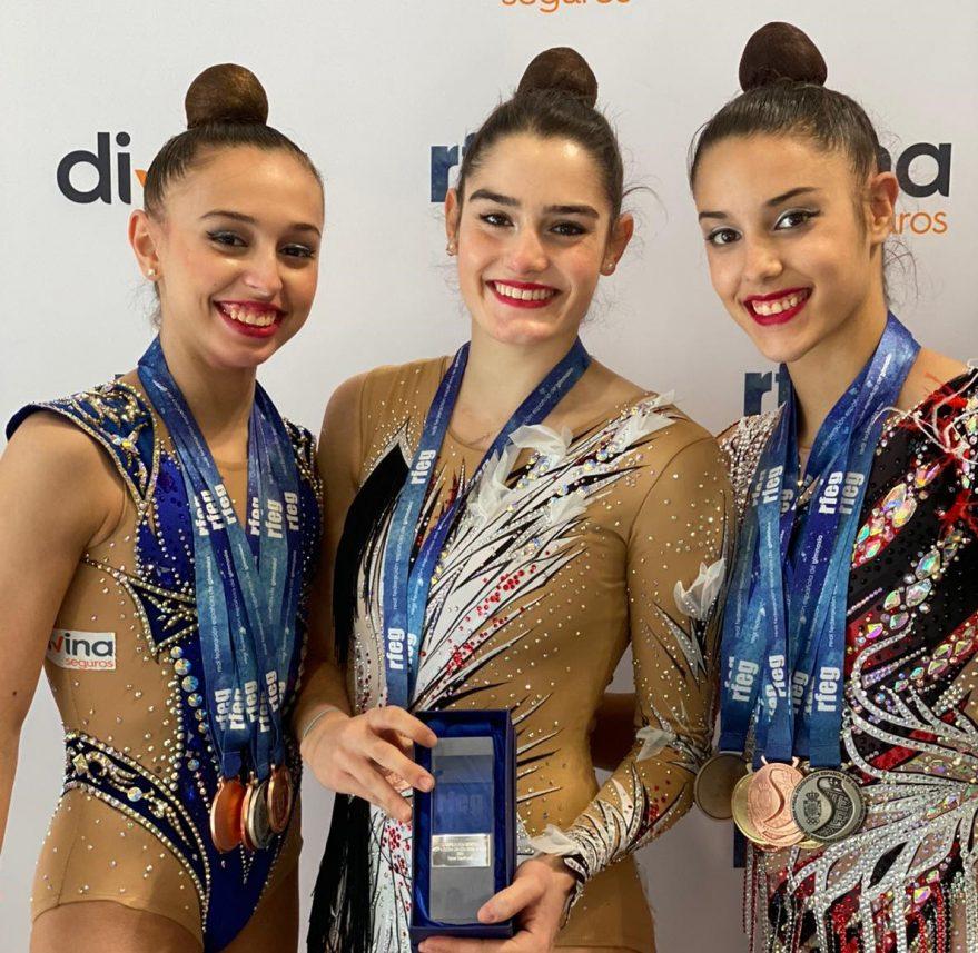 medallas alava campeonatos españa gimnasia ritmica