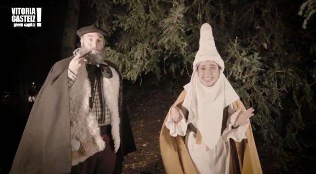 Vitoria prepara las cabalgatas de Olentzero y Reyes para esta Navidad - Gasteiz Hoy
