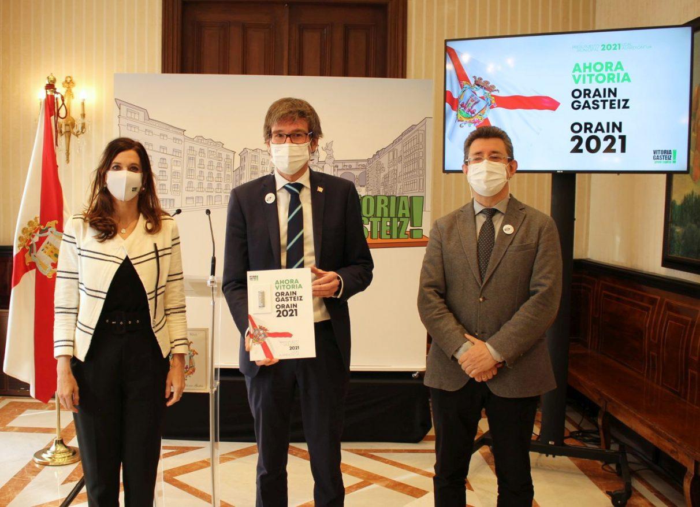 Urtaran y Etxebarria presentan su presupuesto 2021 para Vitoria-Gasteiz | Gasteiz Hoy
