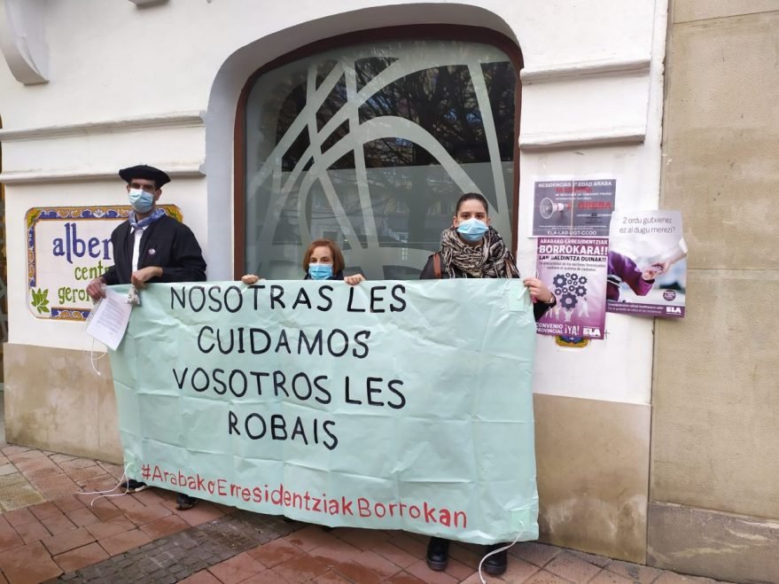 huelga residencias alava