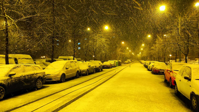 Fotos: La nieve cuaja en Vitoria-Gasteiz | Gasteiz Hoy