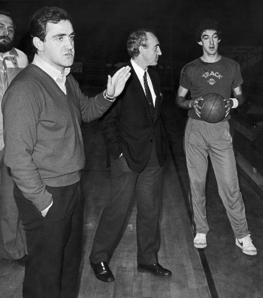Juan Pinedo y Apraiz en 1983