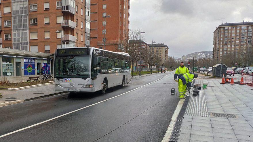 Jacinto Benavente ya es la primera calle BEI de Vitoria