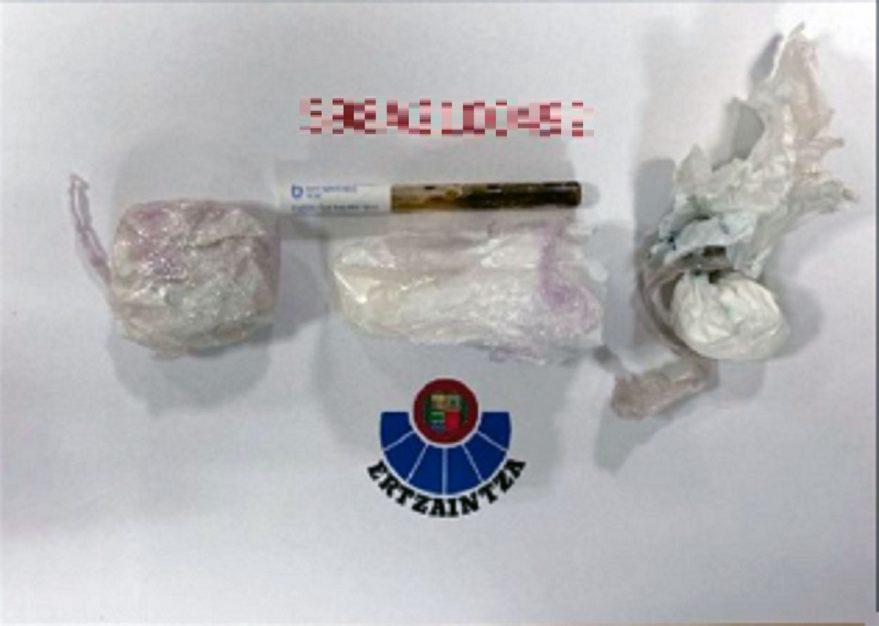 detenido conductor drogas vitoria