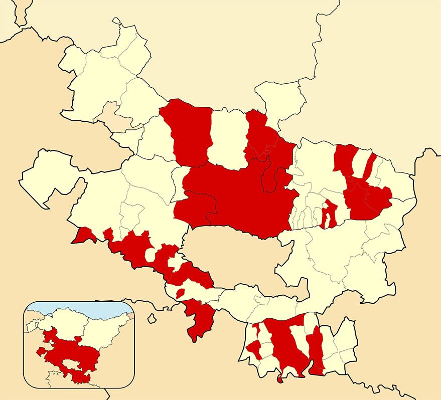 incidencia alava municipios cerrados 25 enero
