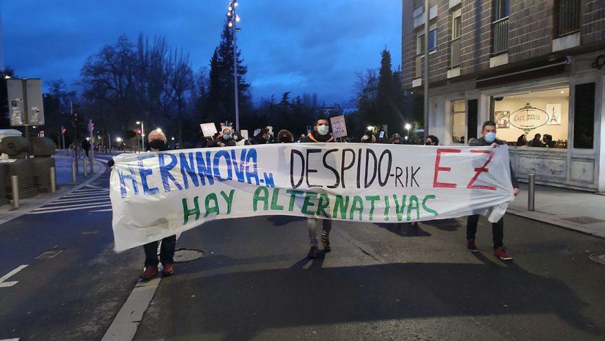 manifestacion aernova 23 enero