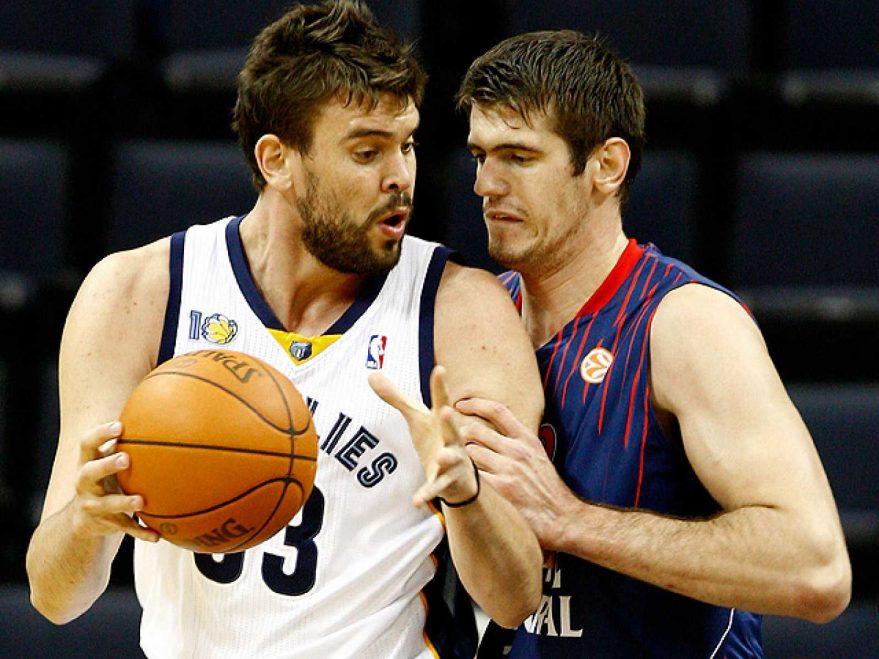 La gira NBA del Baskonia en 2010