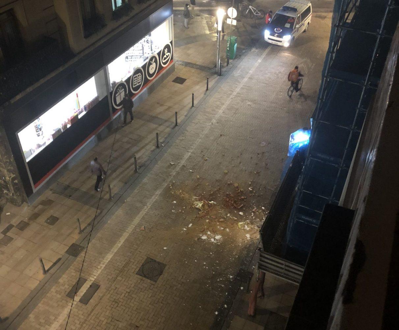 Nieve en los tejados y hielo en el suelo: los peligros actuales | Gasteiz Hoy