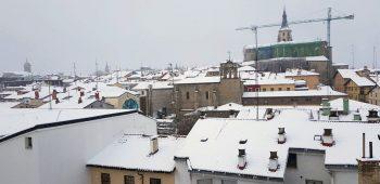 nieve vitoria catedral
