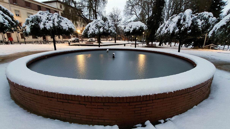 Vitoria espera bajo cero otra posible gran nevada | Gasteiz Hoy