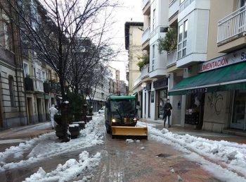 nieve vitoria limpieza calles