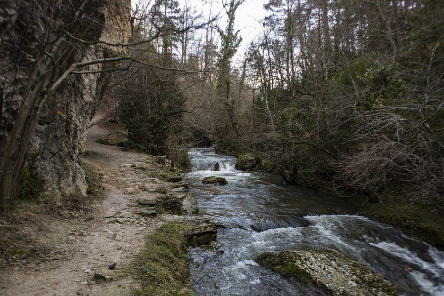 Desfiladero Rio puron Valderejo