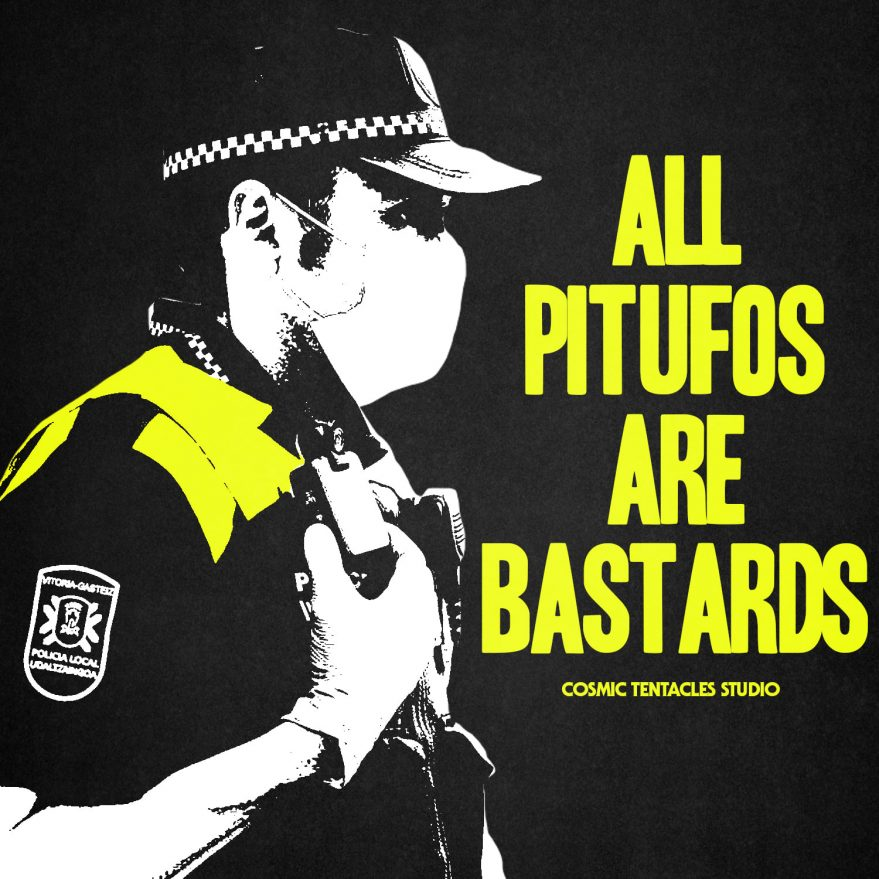 cartel policia local