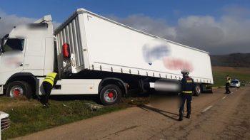trailer volcado vitoria camion