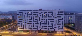 goteras edificio tetris zabalgana