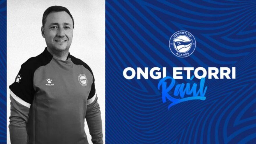 Raúl Llona nuevo entrenador del Alavés B
