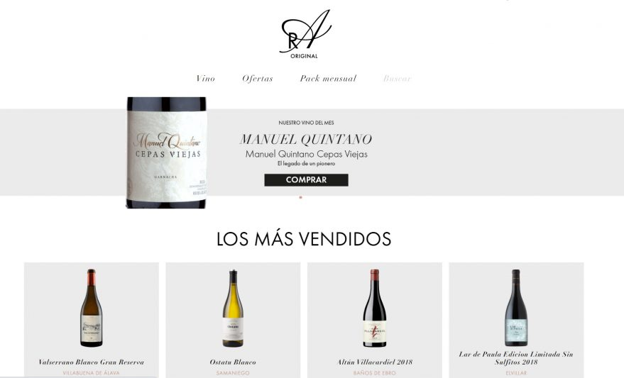 web galarreta araex the grand wines