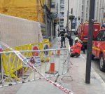 vallado emergencia calle francia vitoria