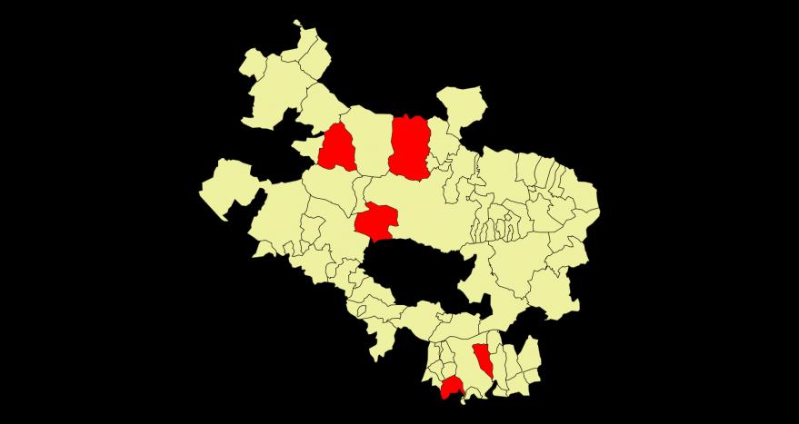 municipios cerrados alava
