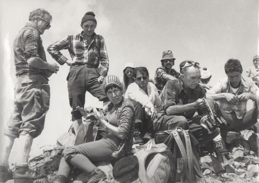 Una exposición recoge los 50 años de historia del Club de Montaña Gazteiz