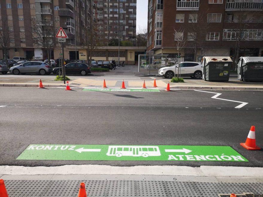 paso sin preferencia peatonal bei