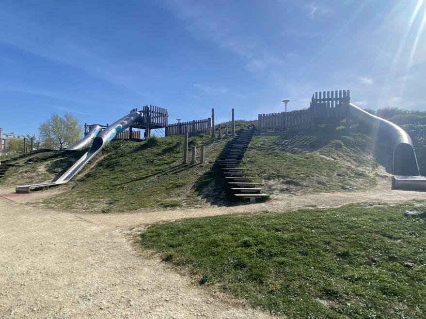 toboganes parque finlandia
