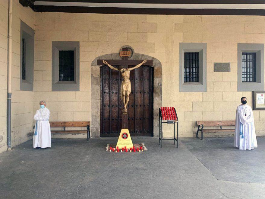 cristo vera cruz san vicente