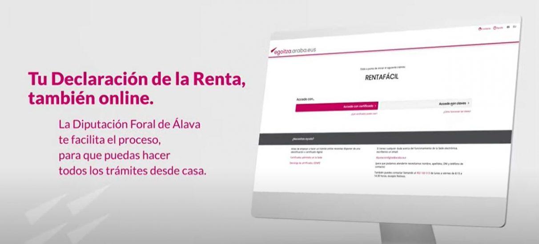 ¿Cómo se hace la declaración de la Renta online? | Gasteiz Hoy