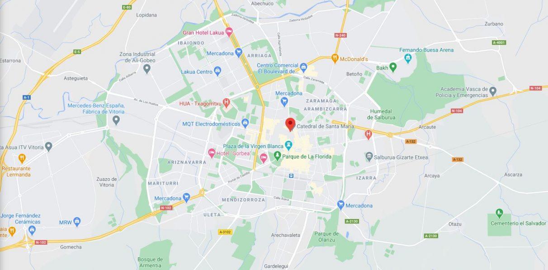 Los errores y curiosidades de Google Maps en Vitoria - Gasteiz Hoy