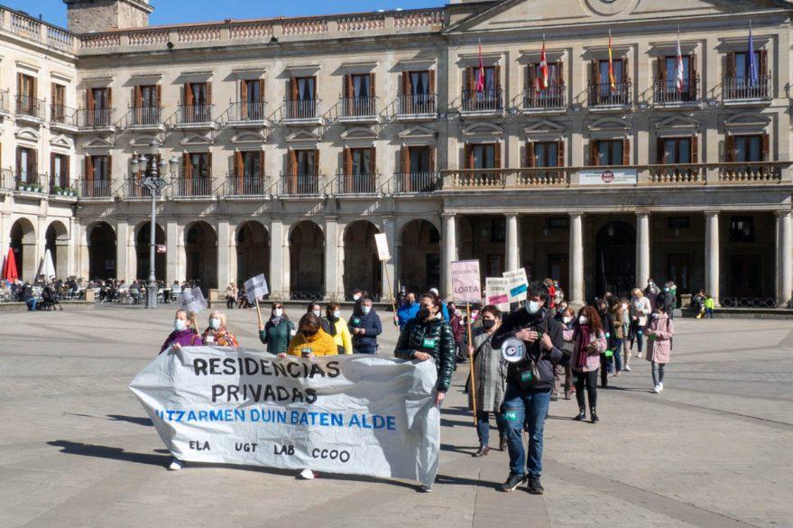 huelga residencias privadas
