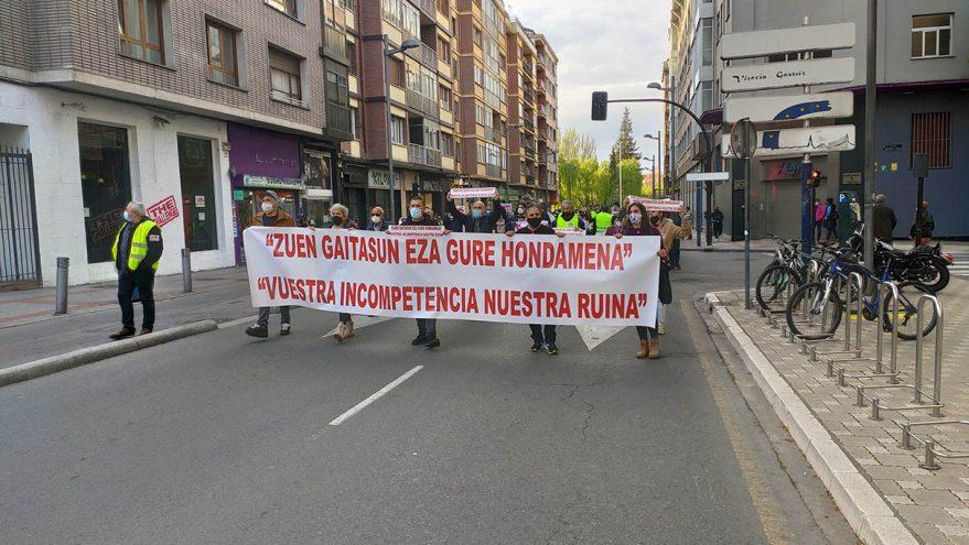 manifestacion hosteleria