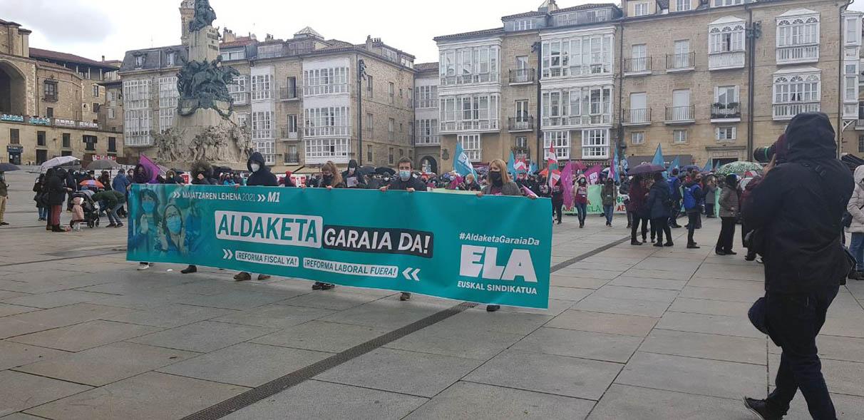 manifestaciones primero mayo vitoria