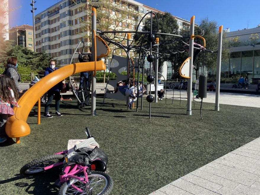 columpios plaza santa bárbara