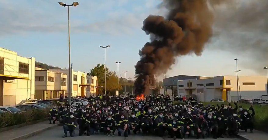 tubacex-barricada-trabajadores-huelga