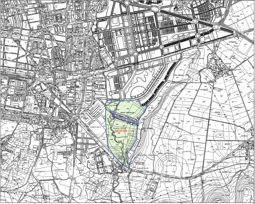 sector 14 vitoria plan general de ordenación urbana