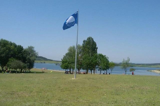 Bandera Azul garaio alava