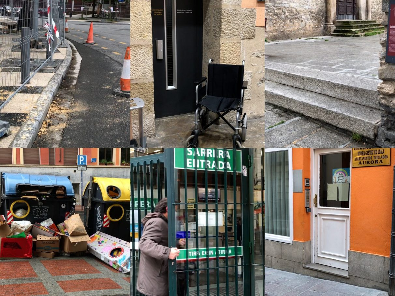 Los 'puntos negros' de la accesibilidad en Vitoria-Gasteiz | Gasteiz Hoy