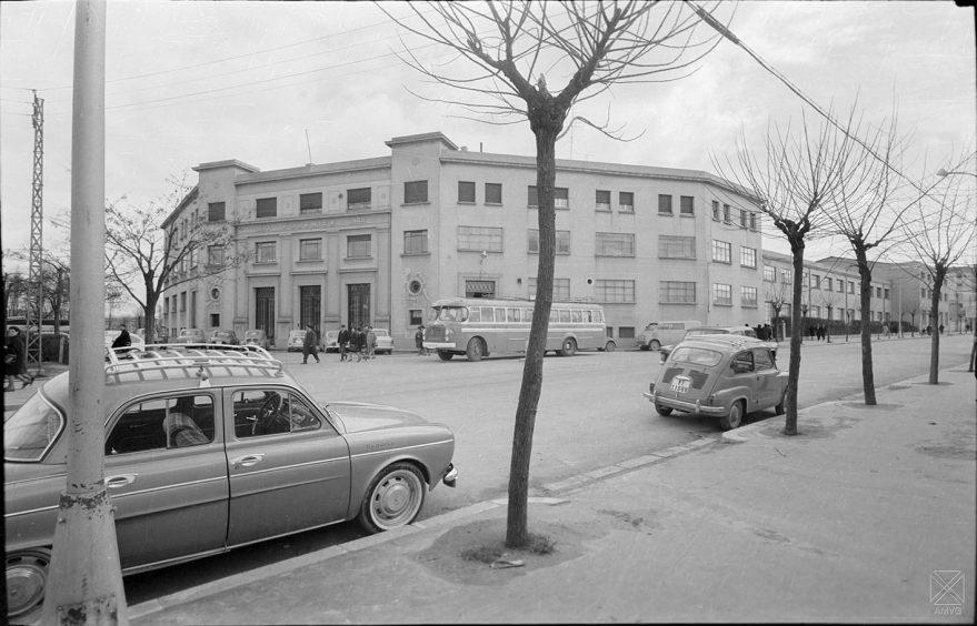 Fábrica de Fournier en 1965. ARQUÉ. AMVG.