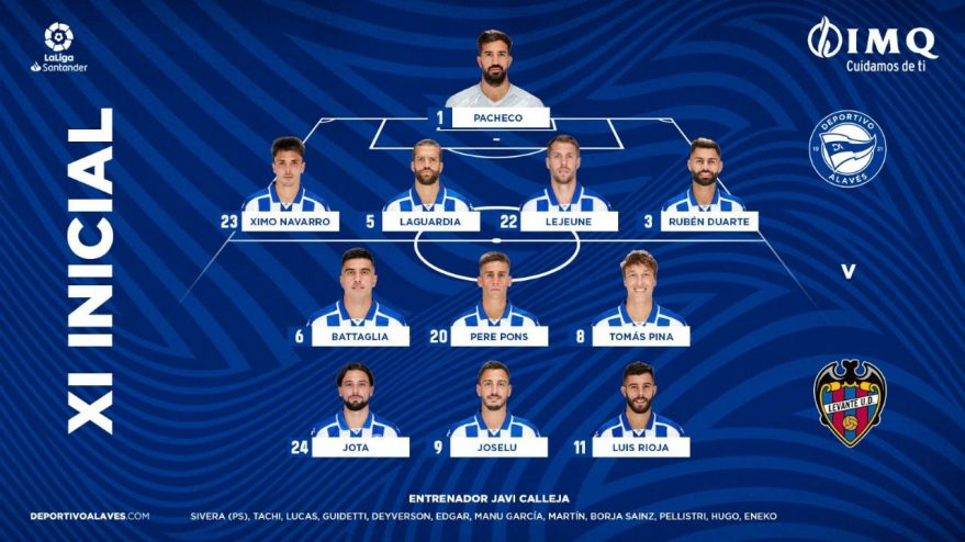 alaves levante once