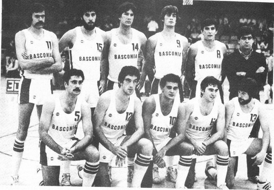 Plantilla del Baskonia 80/81