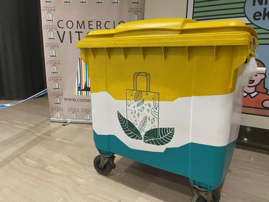contenedor plástico vitoria